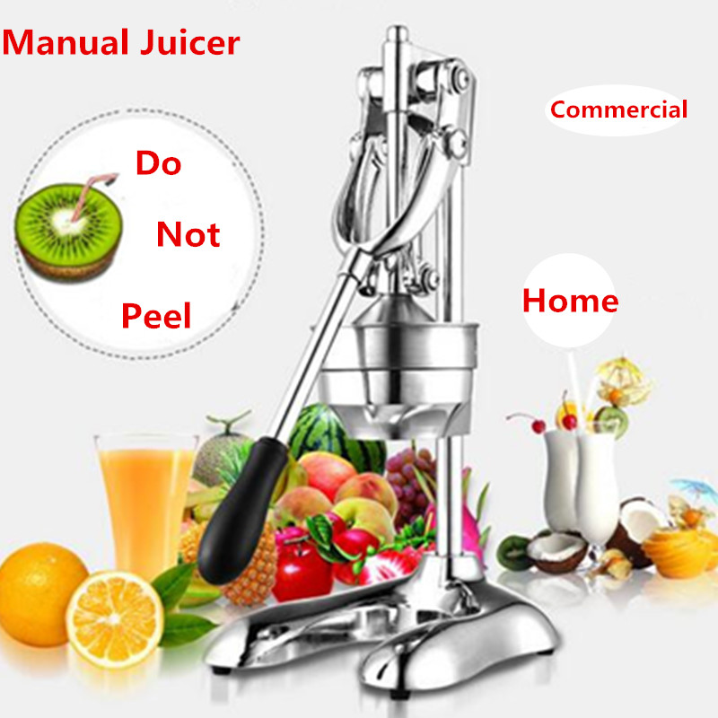 Home Use Slow Manual Press Fruit Juicer Machine For Lemon Orange Lime Fresh Juices Extractor Machine aluminum alloy mini manual fruit juicer machine long lifetime metal lemon juicer orange juice kitchen aid fruit pressing machine