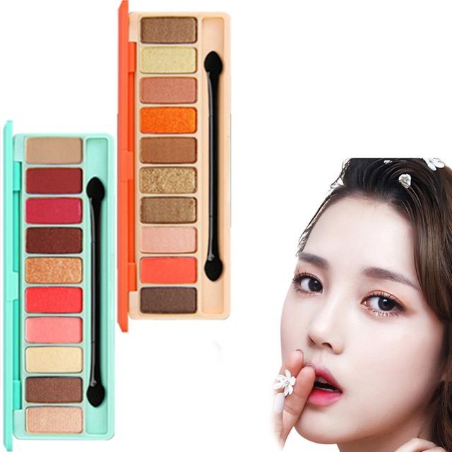 10 Colors Shadow Palette Matte Makeup Set