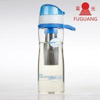 700ml BPA Free Tea Space Cup Portable Bottle Glass Plastic Tea Bottle Out Door Tour Sport
