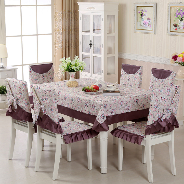 13 Pieces/Set Postoral Lace Tablecloth For Wedding Decor, Brand Dining Table  Cloth And