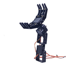 High Quality 4DOF Robot Arm Claw Holder Mechanical Arm with 4pcs Servo Frame Set 310mm Total Length RC Science Models(China)