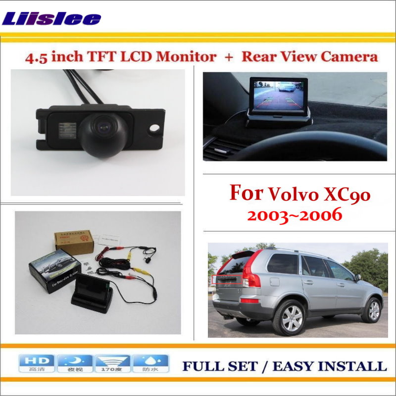 Liislee For Volvo XC90 XC 90 2003~2006 - Auto Back UP Reverse Parking Camera + 4.3 LCD Monitor = 2 in 1 Rearview Parking System