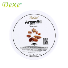 Dexe Brand Keratin Hair Mask Argan Oil for Hair Treatment Professional Ultra Hydrating Hair Scalp Treatment Repair Damaged Cream