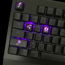 Customized Overwatch Translucent ABS Keycaps for Mechanical Keyboard Newly Keypress for Gaming Keyboards