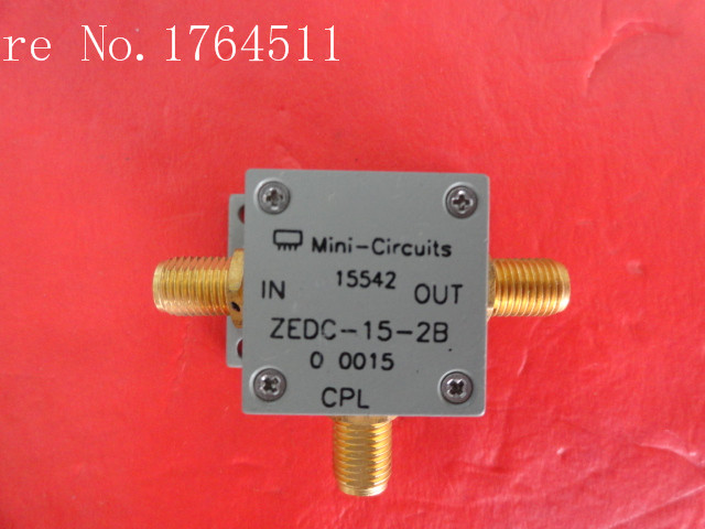 [BELLA] Mini ZEDC-15-2B 1-1000MHz Coup:15dB SMA Supply Coupler