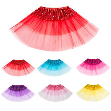 Todder Kids Girls Ballet Tutu Princess Up Dance Wear Costume Party Skirt New Year Costume Kids Clothes(China)