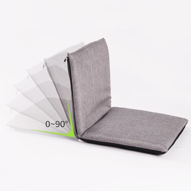 Lazy Sofa Tatami Folding Cushion Sofa Foldable Single Small Sofa Bed Chair
