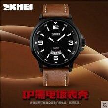 Panic buying Quartz Genuine Leather Waterproof Casual Wrist Man Sport relogio masculino Sports Quartz-Watch Windproof Watches