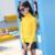 Las niñas de Punto Jersey 2017 de Primavera Nuevos Casual Rayas Verticales Suéter Para Niños Chicas Manga Larga Simples Niños Ropa 4735 W
