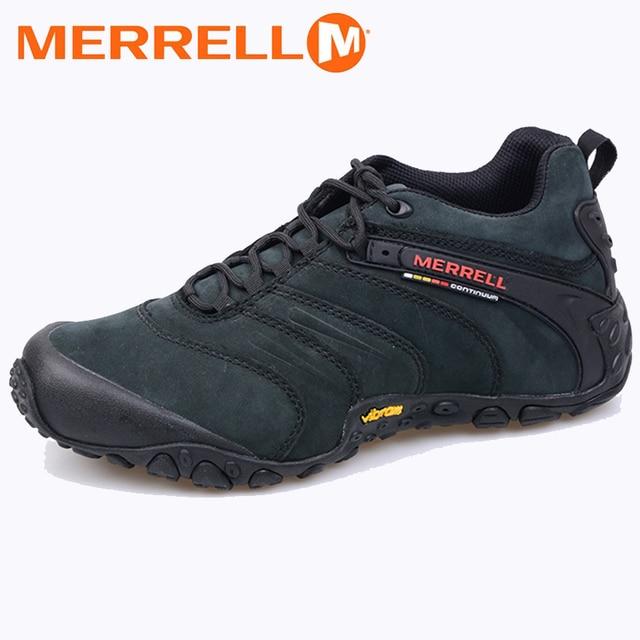 Aire Zapatos Profesional Libre Original Merrell Hombres Nobuck De Al 9EHID2