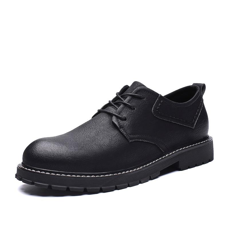 En Pour Hommes Homme Style Chaussures Casual Unique Jeunes peluche Qualité 44 Chaussure Tendances Cuir Size38 marron Noir Véritable Haute 6qtaYxawz