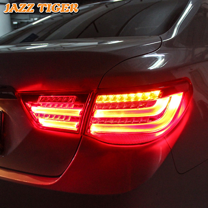 Car Styling for Toyota Reiz Tail Lights 2010 2011 2012 Mark X LED Tail Light Rear Lamp DRL+Brake+Park+Signal