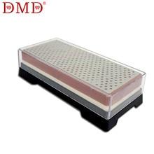 DMD Neue doppelseitige diamant schleifstein messerschärfer schleifstein LX-0811 mit abdeckung 400/1000 #