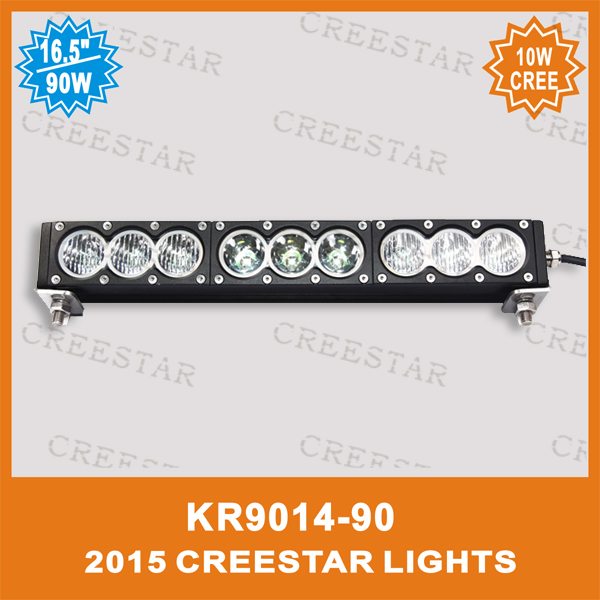 Amber led light bar 90w led light bar White led offroad light KR9014-90 12V 24V 90W 8100Lumens IP67 4x4 4wd work driving bar люстра накладная 06 2484 0333 24 gold amber and white crystal n light