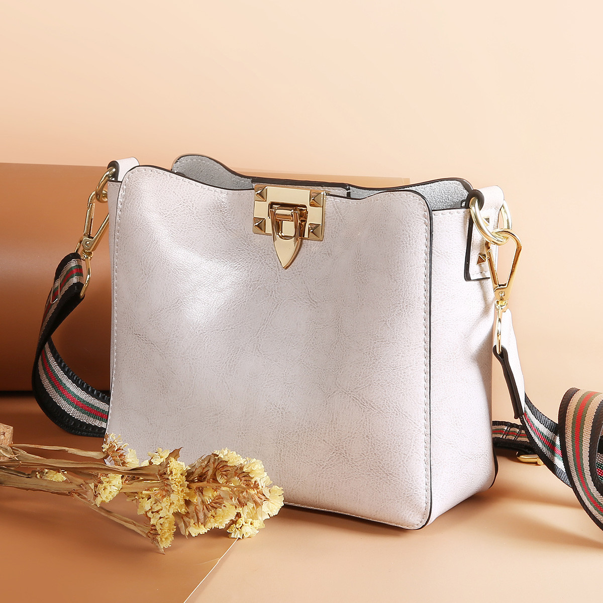 ACELOVE Luxury Shoulder Bag Set Womens Small Ladies Square Bucket Bags Genuine Leather Fashion Crossbody Bags for Female 2019ACELOVE Luxury Shoulder Bag Set Womens Small Ladies Square Bucket Bags Genuine Leather Fashion Crossbody Bags for Female 2019