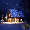Лазерные рождественские огни красный зеленый синий движущийся RGB 20 шаблонов проектор IP65 открытый РЧ пульт для рождественского праздника ук...
