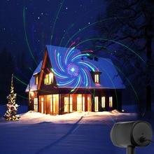 לייזר אורות חג מולד אדום ירוק כחול נע RGB 20 דפוסים מקרן IP65 חיצוני RF מרחוק עבור חג גן קישוט
