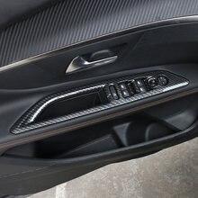 Крышка кнопки переключателя окна автомобиля из АБС углеродного