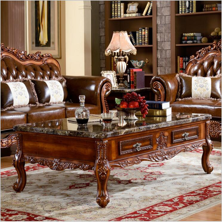 Us 620 0 Antique European Style French Italian Hand Carved Marble Coffee Table O1133 In Tables From Furniture On Aliexpress
