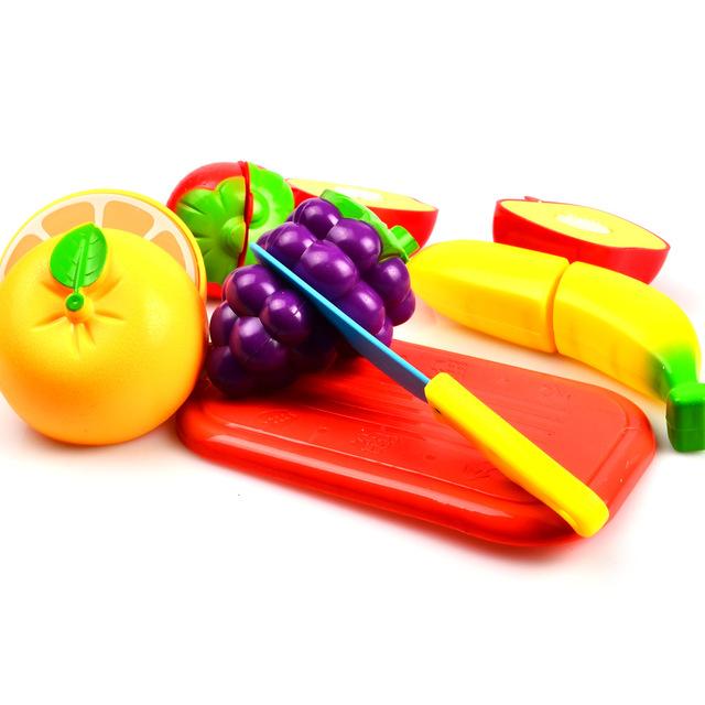 Kids Slicing Food Toys