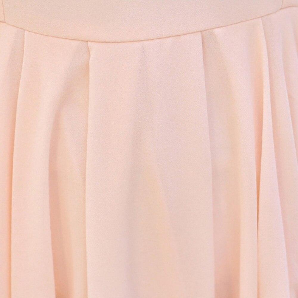 Cola Bohemio Vestido Niñas Vestidos Cielo Verano azul Irregular Para Milano Mujer rosado Playa De 2018 Negro Elegante Chifón 8dYwUYq