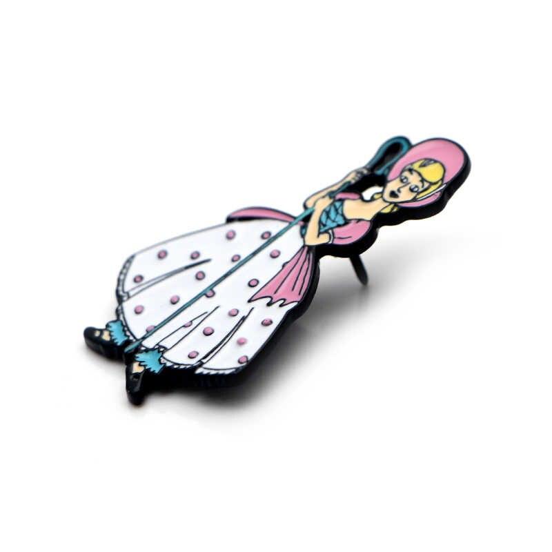 Lucu Gadis Kartun Seng Aolly Enamel Pins Trendi Medali Insignia untuk Ransel Kemeja Pakaian Bros Lencana untuk Wanita E0624