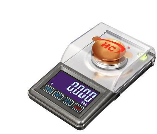 Lab Analytical Balance Scale High Precision Digital Jewelry Scale 50g/0.001g