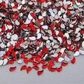 10000 UNIDS Red Comas forma 3D Acrílico Nail Art Decoraciones Posterior Plana Gemas de Los Rhinestones accesorios de Decoración Del Teléfono Celular Al Por Mayor