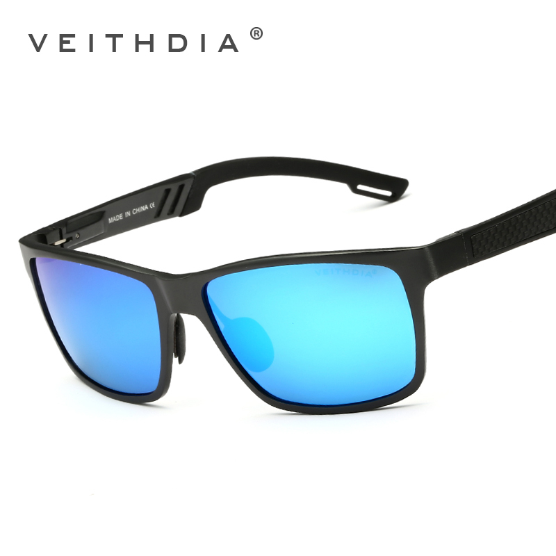 604d3931bb VEITHDIA Original Brand Logo HD Aluminum Magnesium Men Mirror Driving  Glasses Goggles Oculos De Sol Polarized Sunglasses 6560-in Sunglasses from  Apparel ...