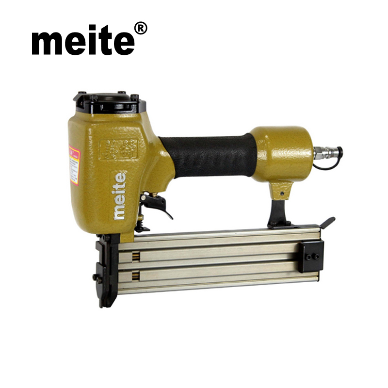 Meite T50SA 16 gauge gun lighter type hand tools air nailer pneumatic brad nailer gun for furniture wood  Jan.10 Update Tool 18ga pneumatic brad nailer gun f50 not include the custom tax
