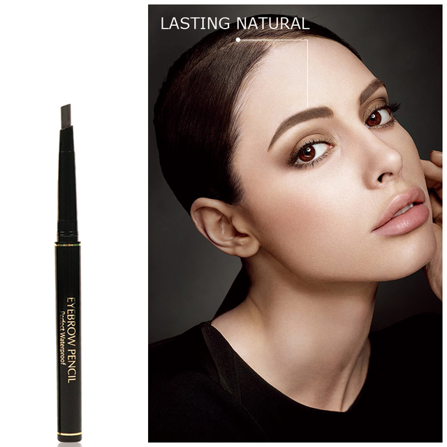 MIXDAIR 4 Colors Eyebrow Pencil Natural Waterproof Long Lasting Paint Tattoo Eye Brow Pen Eye Makeup Cosmetic 1