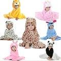Детское одеяло, bebe, Животных голову одеяло, новый 2015, новорожденный Пеленание, супер мягкие и удобные детские постельные принадлежности