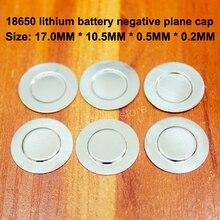100pcs/lot 18650 Battery Negative Cap Spot Welding Small Negatives Pads Tab Accessories