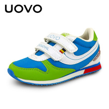 UOVO 2017 hit color fashion toddler children's shoes brand kids shoes school shoes for teen girls and boys size 25-38