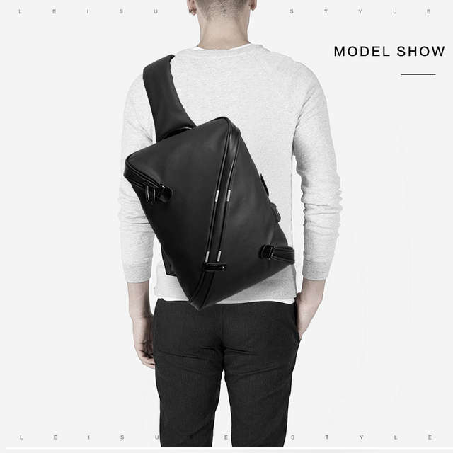 e7390355f60b US $30.68 |Men Chest Bag Waterproof Anti Theft Reflective USB Charging  Shoulder Messenger Bags Handbag Sling Flap Male-in Waist Packs from Luggage  & ...