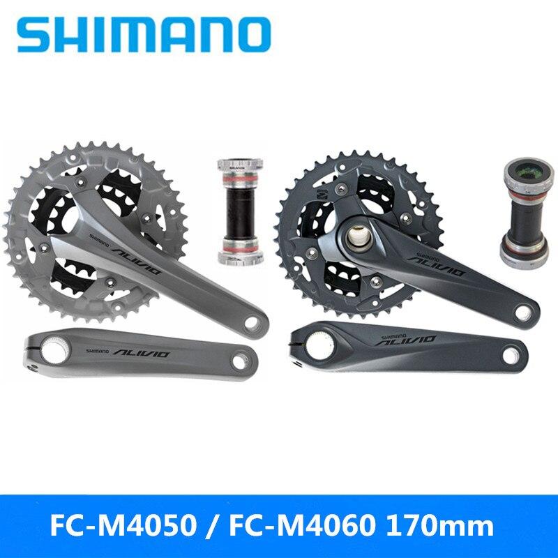 Shimano Alivio Fc-m4050/fc-m4060 170mm Sprocket Wheel 9/27 Speed Mountain Bike Hollow One Sprocket Brand New Original Bicycle Parts