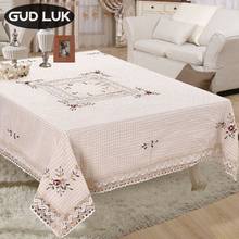 Lace Tablecloth Flower-Styles Handmade Floral Polyester Fashion Square 150--220cm 10-Different