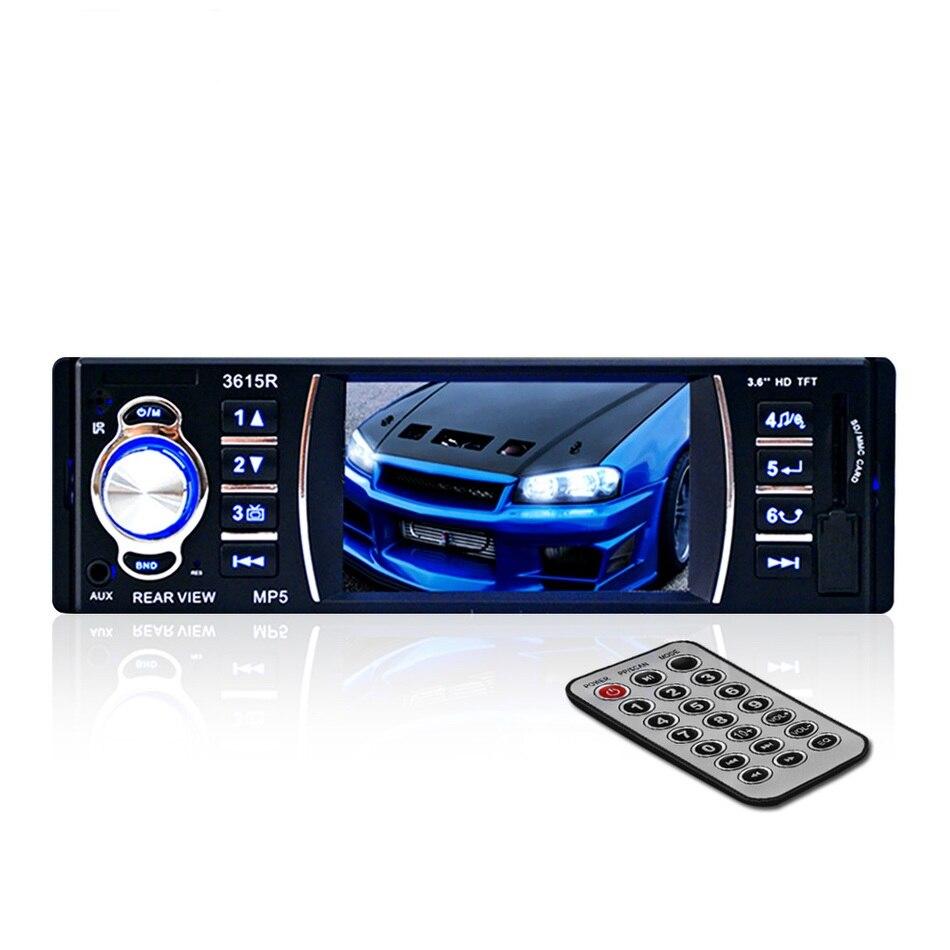 ФОТО 1 Din Car MP5 Player Video 1Din 12V Car Audio Stereo Radio USB Bluetooth BT FM SD AUX Remote Control Hands-free Autoradio