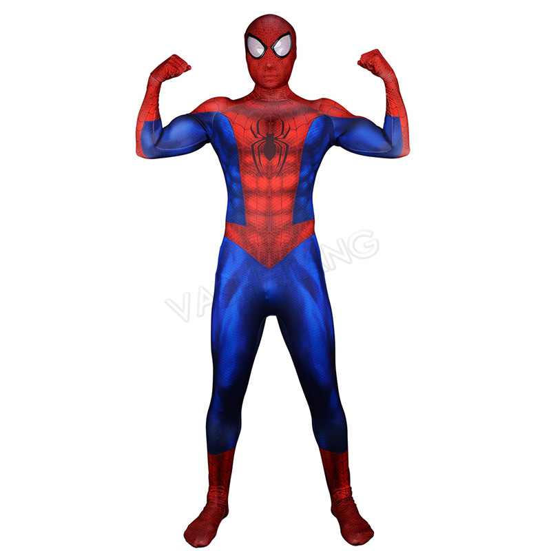 Spiderman Homecoming Cosplay Costume Zentai Spider Man Superhero Bodysuit Adult Lycra Spandex Spider man Costume for Halloween-in Movie & TV costumes from Novelty & Special Use    2