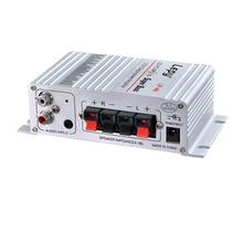 Lepy Auto Moto MP3 MP4 Hi-Fi Audio Stereo Mini Amplifier 12V 2A