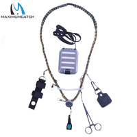 Maximumcatch Hand Woven Fly Fishing Lanyard With Fly Box Streamside Accessories