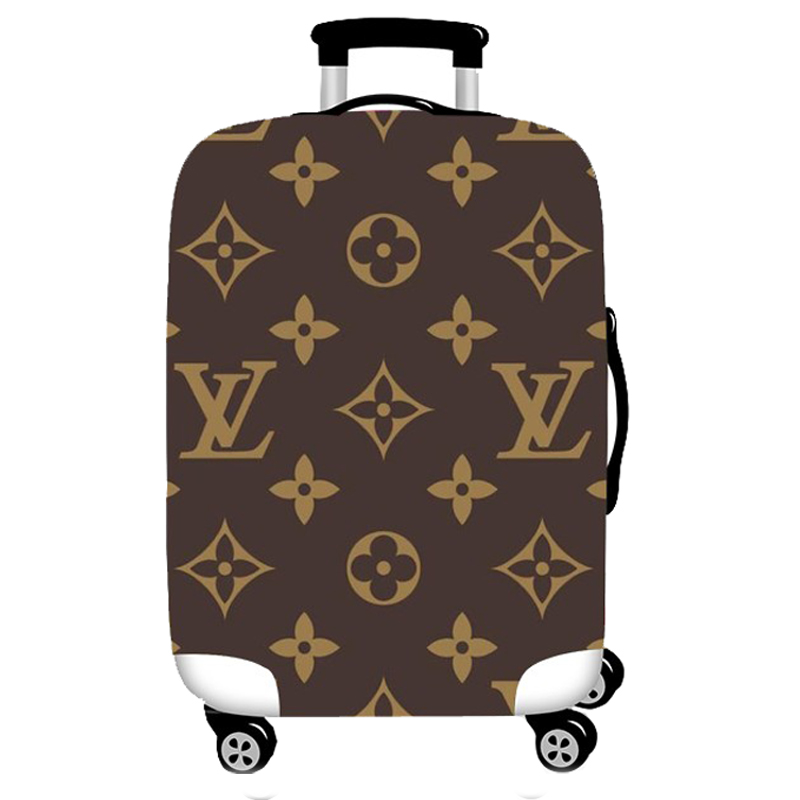 Elastic Luggage Protective Cover Case For Suitcase Protective Cover Trolley Cases Covers 3D Travel Accessories Luxury Brand 89