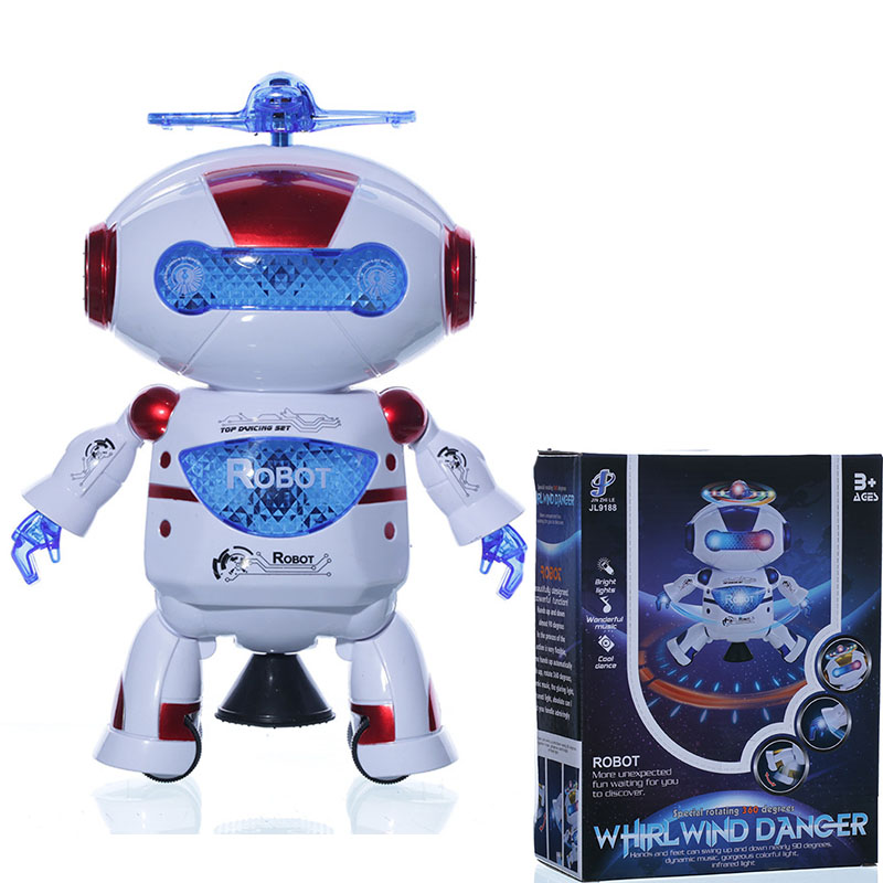 Toys & Hobbies Bright Electric Colorful Light Music Dancing Swing Robot Model Toys Children Kids Educational Toy Birthday Gift
