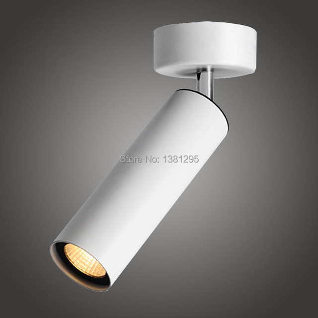 Surface Mounted Adjustable Led Spotlight Ceiling Track Led