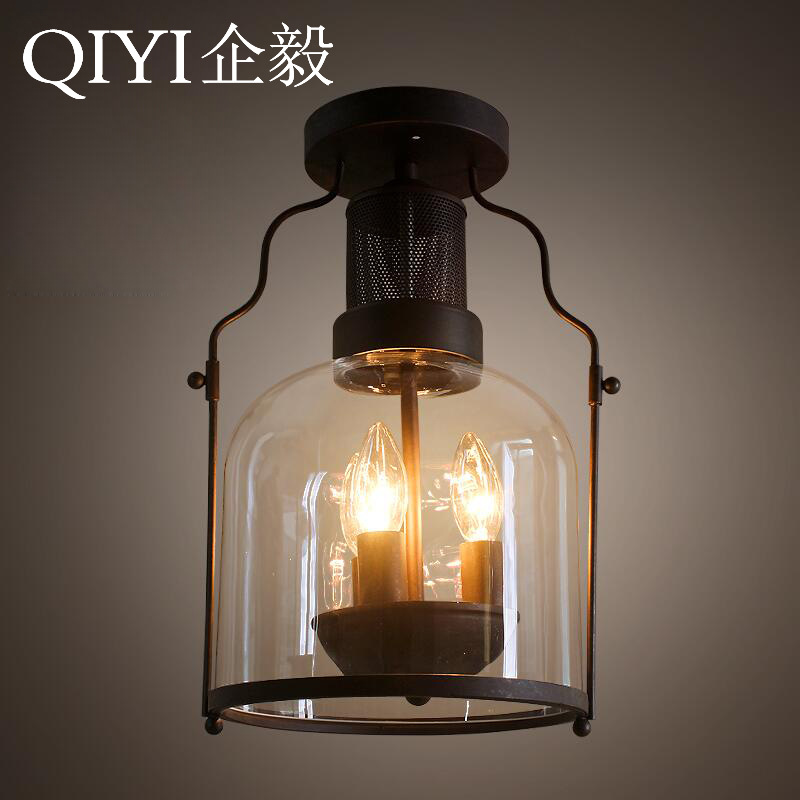 Vintage Ceiling Lights Glass lampshade Retro Chandelier Ceiling Lamp Home Lighting Living Room Lights ZXD0017Vintage Ceiling Lights Glass lampshade Retro Chandelier Ceiling Lamp Home Lighting Living Room Lights ZXD0017