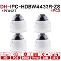 DH Kamera IPC HDBW4433R ZS Mit Junction Box PFA137 4MP PoE IP Kamera 2 8mm ~ 12mm Elektrische Zoom Objektiv IP67 IK10 IR 50 M 4 teile/los-in Überwachungskameras aus Sicherheit und Schutz bei