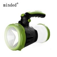 USB Working Lamps Searchlight Built in 18650 Torch Portable Spotlight Lantern Waterproof Hunting Light Led Flashlight Lamp