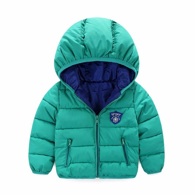 Winter Newborn Baby Snowsuit fashion Girls Coats And Jackets Baby Warm Overall Kids Boy Jackets Outerwear Clothes 7-24 month