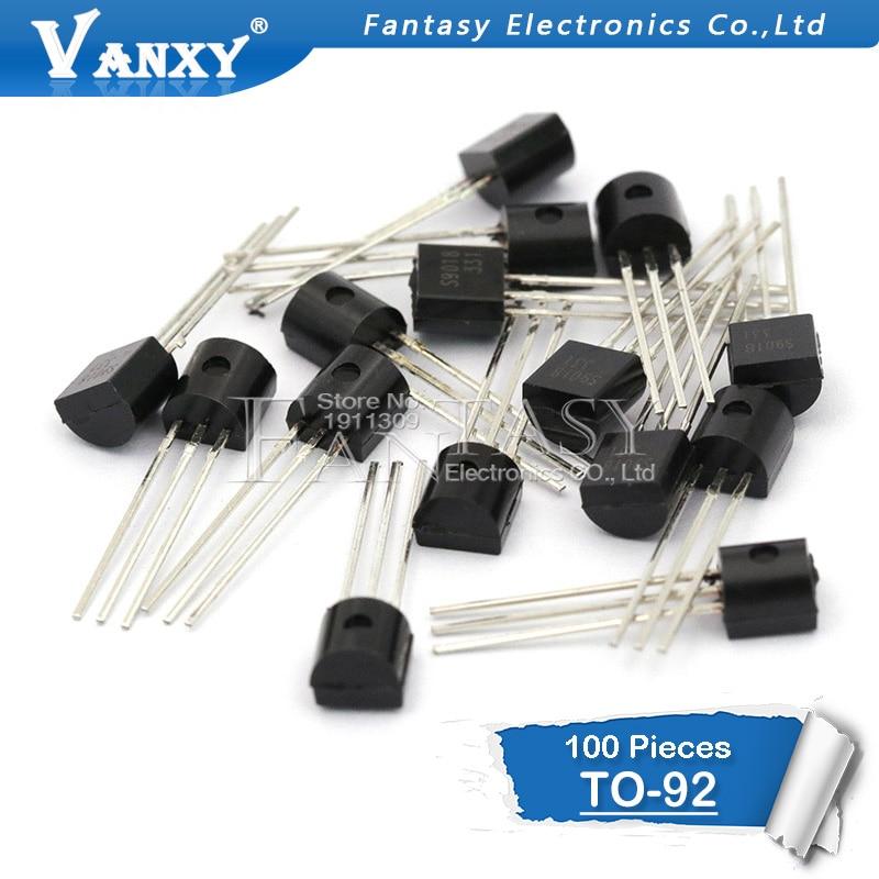 100pcs 2N5401  2N5551  TL431  78L05  2SA970 2SC2240 A970 A2240 Transistor