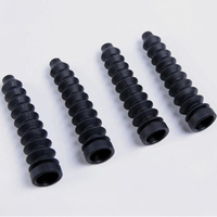 8MM Silicone Rubber Sleeve Shock Tower Shaped Bellows Damping 4pcs Set For 1 5 Hpi Baja